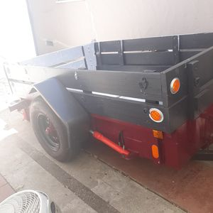Super steel heavy duty trailer for sale tilt trailer for Sale in Benicia, CA