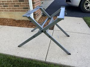 Ridgid Table Saw Compact Folding X Stand for Sale in West Chicago, IL