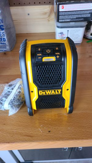 Dewalt Bluetooth speaker. Brand new for Sale in Pasadena, TX