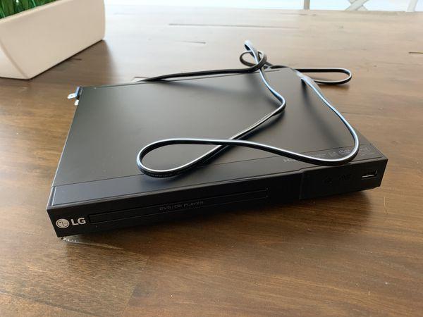 LG DVD player HDMI input