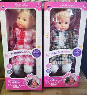 New doll $16 each for Sale in Riverside, CA