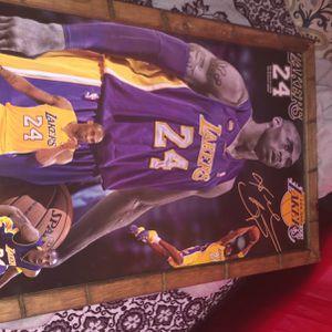 Kobe Bryant Canvas for Sale in Winton, CA