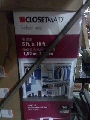 Closet maid closet organizer for Sale in Bedford, OH