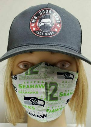 SEATTLE SEAHAWKS & LAKERS/DODGERS MASKS FOR CHRIS for Sale in Norwalk, CA