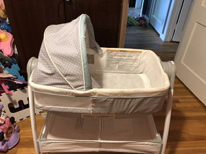 Bassinet/changing table for Sale in Chicopee, MA