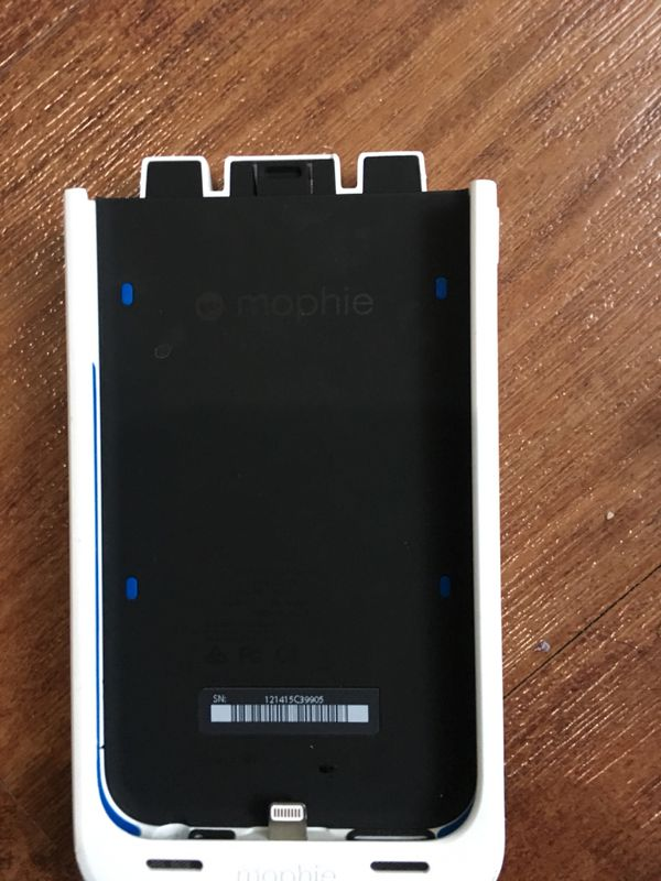 Mophie iPhone 6s charging case