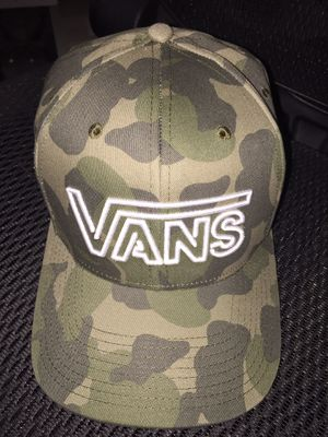 New Camo Vans Hat / 1 size fits all for Sale in Brea, CA