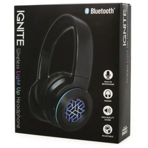 ignite LED light-up bluetooth headphones with mic for Sale in Miami, FL