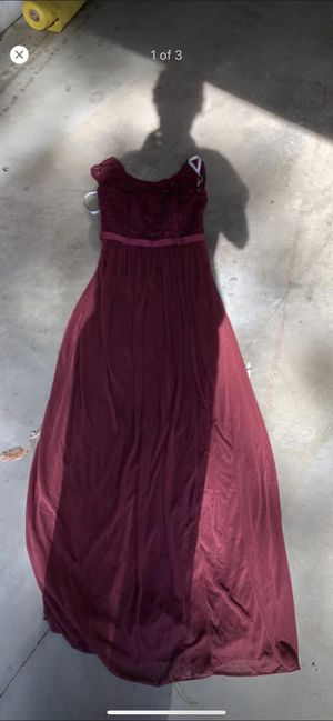 Maroon size 2 dress. for Sale in Saint Charles, MO