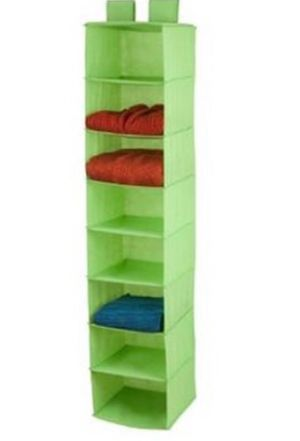 Hanging fabric shelves drawers closet rack for Sale in Anaheim, CA