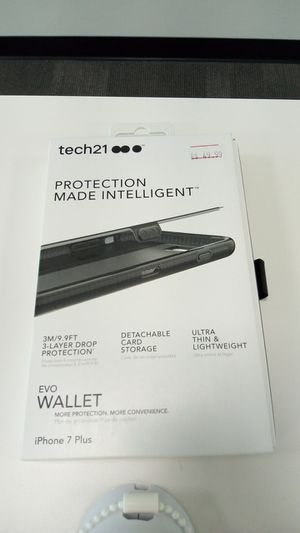 Tech 21 EVO wallet case iPhone 7 Plus for Sale in San Angelo, TX