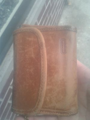 Coach leather wallet for Sale in New York, NY