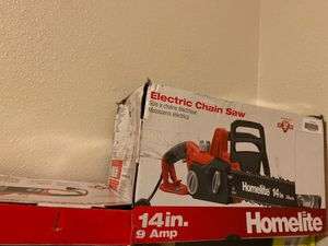 Homelite electric chainsaw for Sale in Hayward, CA
