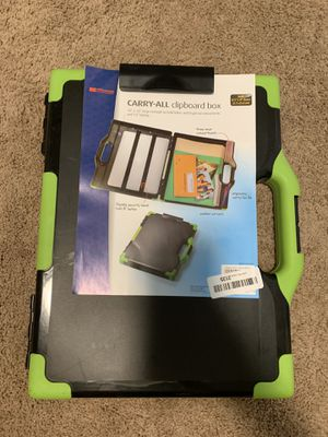 Brand new Carry-all Clipboard box/briefcase for Sale in Cinnaminson, NJ