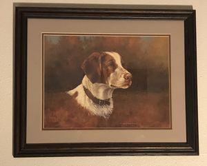 Dog picture, Art, Home Decor, Animals, Framed for Sale in Newberg, OR