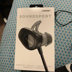 Bose Soundsport Headphones for Sale in Georgetown, TX