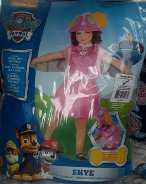 Paw Patrol costume size small 4-6 for Sale in Virginia Beach, VA