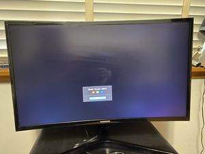 """Samsung 27"""" curved monitor for Sale in Farmers Branch, TX"""