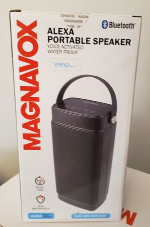 Portable speaker voice activated water proof Magnavox for Sale in Garden Grove, CA