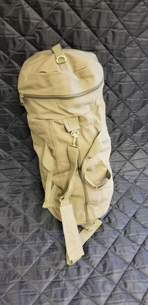 Duffle bag olive drab for Sale in Bassett, CA
