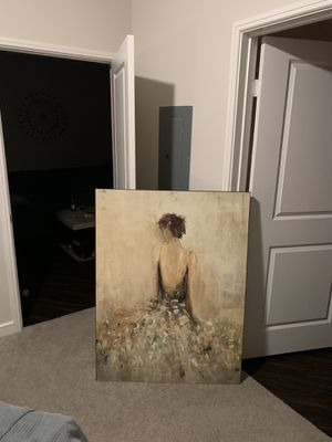 Ballerina oil painting art for Sale in Dallas, TX