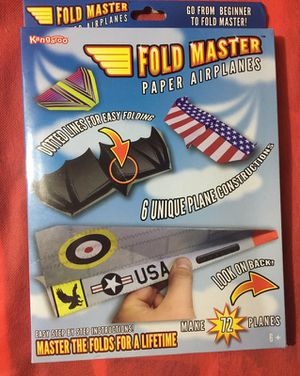 New paper airplane kit for Sale in Salem, SD