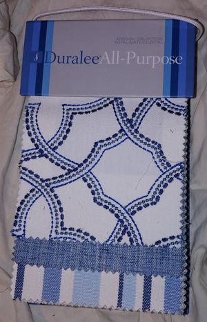 Fabric Sample Book: Duralee All-Purpose. Addison Collection. Royal-Slate-Celestial. Book #3063 for Sale in Seattle, WA