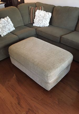 Upholstered Ottoman with storage for Sale in Fairfax, VA