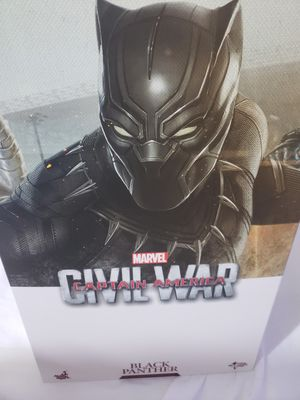 Hot toys black panther, civil war.. for Sale in Palmdale, CA
