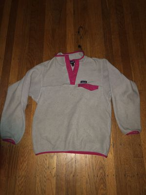 Patagonia fleece synchilla pull over for Sale in San Francisco, CA