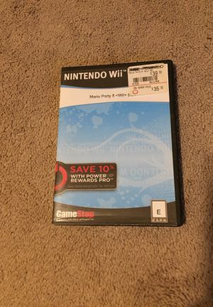 Mario Party 8 Wii for Sale in Prairieville, LA
