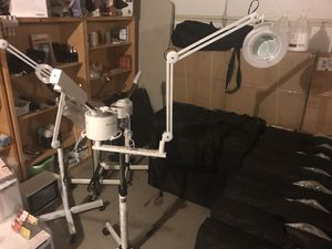 2 in 1 Facial Steamer and 5x zoom mag lamp for Sale in Glendale, AZ