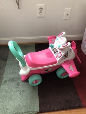 Pink Minnie Mouse plane for Sale in Sterling, VA