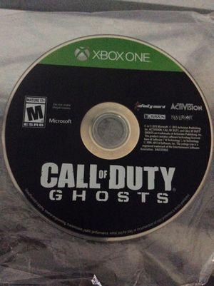 Call Of Duty GHOST for sale for Sale in Arroyo Grande, CA