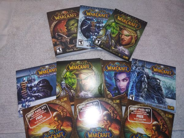 World of Warcraft wrath of the Lich King PC GAME