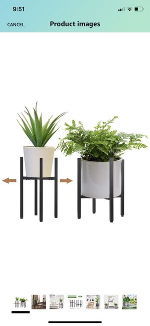 2 pack metal plant stand for Sale in San Diego, CA