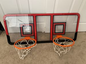 Double basketball hoops for Sale in Phoenix, AZ