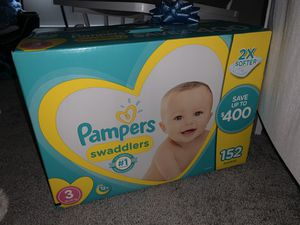 Pampers size 3 for Sale in Bethany, CT