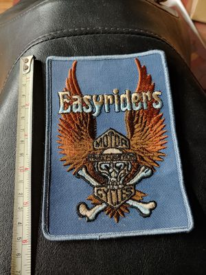 Easyrider Harley Davidson motorcycle patch for Sale in Vernon, CA
