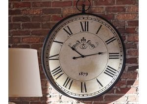 NEW, Augustina Antique Black Wall Clock, SKU# A8010110 for Sale in Westminster, CA