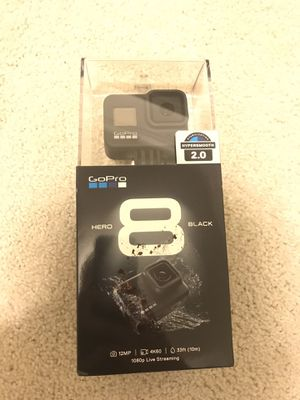 GoPro Hero 8 Black NEW for Sale in Bothell, WA