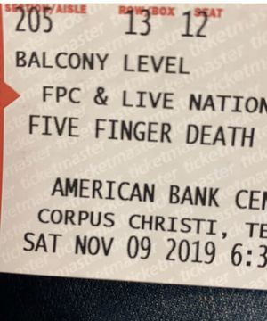 Five Finger Death Punch tickets (2) for Sale in Corpus Christi, TX