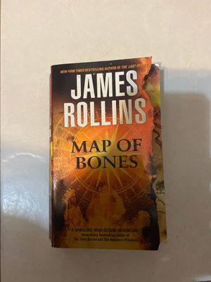 James rollins map of bones for Sale in Miami, FL