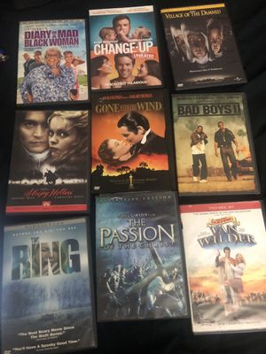 Diary of a mad black women the passion of the Christ movies dvds cds scary movie horror drama comedy for Sale in Glendale, AZ