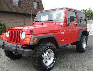 Original OwnerO2 Jeep Wrangler redcolor for Sale in New York, NY