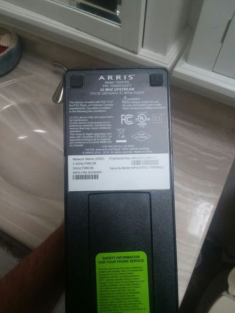 Arris tg2472g router for Sale in Tucson, AZ - OfferUp