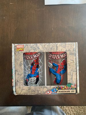 Marvel Spider-Man Collectible Glassware Set for Sale in Chandler, AZ