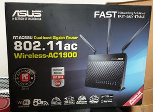 Brand new Asus gigabyte router 802.11ac 5G wifi for 99$ for Sale in Corona, CA