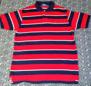 Polo Ralph Lauren Men's Striped Shirt (XL) Excellent Condition for Sale in Silver Spring, MD