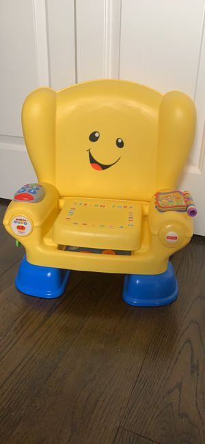 Fisher-Price Laugh & Learn Smart Stages Chair-kids learning chair, learn alphabet and numbers for Sale in Charlotte, NC